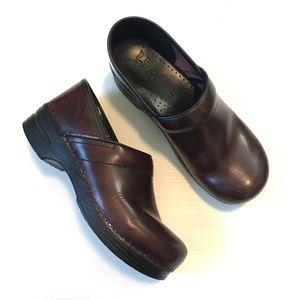 Dansko Leather Professional Work Clogs